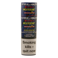 Cyclones Double Wrapped Pre-rolled Cone - Wolverine