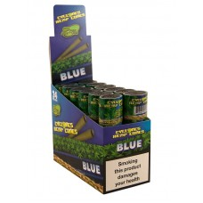 Cyclones Pre-Rolled Conical Blunt Blue - 2 per Pack