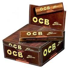 OCB Virgin Unbleached King Size Slim