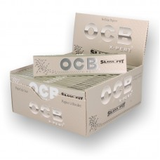 OCB X-PERT King Size Slim Rolling Papers - Box of 50