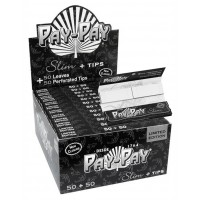 Pay-Pay Black King Size Slim with Tips