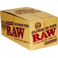 RAW Tips Gummed and Perforated