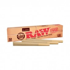 RAW Classic Pre-Rolled Cone King Size 32 per Pack