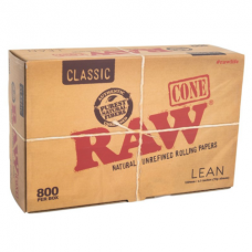 RAW Classic Pre-Rolled Cone King Size - 800 per Pack