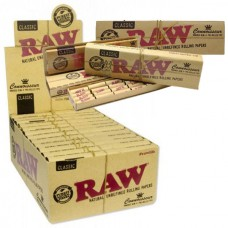 RAW Classic Connoisseur King Size Slim & Pre-Rolled Tips