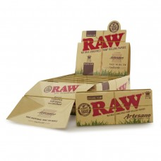 RAW Organic Artesano King Size Slim Rolling Papers & Tips