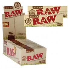 RAW Organic Single Wide Standard Size