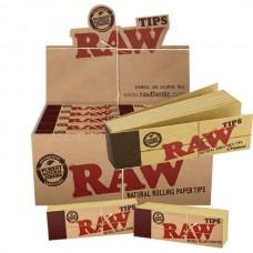 RAW Original Regular Standard Rolling Tips - Box of 50