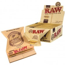 Raw Classic Artesano King Size Slim Rolling Papers Tips & Tray