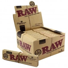 Raw Classic Connoisseur King Size Slim Rolling Papers & Tips