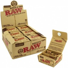 Raw Masterpiece Classic King Size Rolls & Prerolled Tips