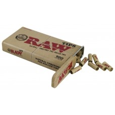 Raw Prerolled Tips in Metal Case