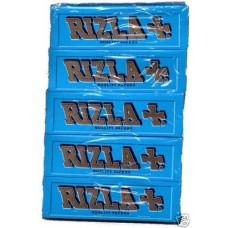 Rizla - Blue Regular Rolling Papers Hanger x 5 Pack