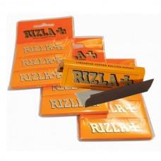Rizla - Liquorice Regular Rolling Papers Hanger x 3 Pack