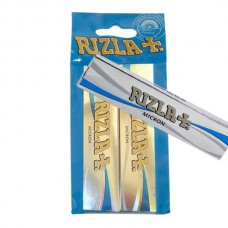 Rizla - Micron King Size Slim Rolling Papers Hanger x 2 Pack
