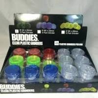 Buddies - Small 2 Piece Acrylic Grinder