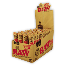 Raw Classic King Size Cone Papers